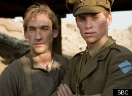 Joseph Mawle and Eddie Redmayne star in 'Birdsong'