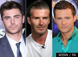 David Beckham was named Hottest Hunk