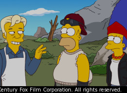 Julian Assange will appear on the Simpsons