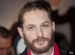 Tom Hardy at the premiere of 'This Means War' in London