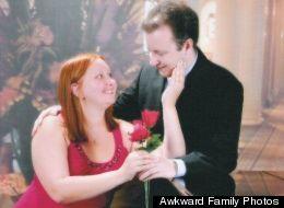 A (Very) Awkward Couple Photo