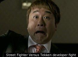 Tekken Versus Street Fighter Developers Fight