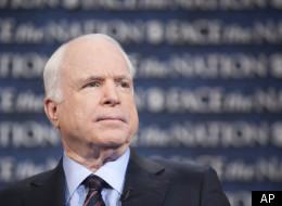 Sen. John McCain (R-Ariz.), along with fellow Arizona Republican Sen. Jon Kyl, introduced a bill Thursday that would spare the Pentagon from almost $500 billion in cuts.