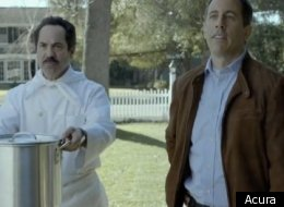 In this Super Bowl XLVI ad, Jerry Seinfeld really, really wants an Acura NSX.