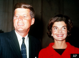 President John F. Kennedy, pictured here with his wife, Jackie, allegedly had an affair with former White House intern Mimi Alford.