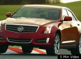 Cadillac used it's platform to brag on its ATS model.