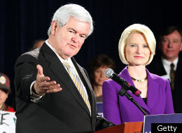 Candidate Newt Gingrich could use his speech to the Conservative Political Action Conference on Friday to reassert his influence over the course of the Republican primary.