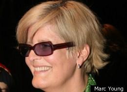 Marie Saint-Pierre en entrevue à la Semaine de la mode de Montréal