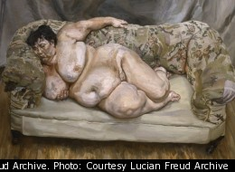 Benefits Supervisor Sleeping, 1995 by Lucian Freud Private Collection