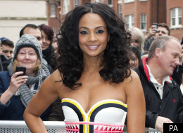 Alesha Dixon has attitude at the London auditions of 'Britain's Got Talent', standing up to Simon Cowell