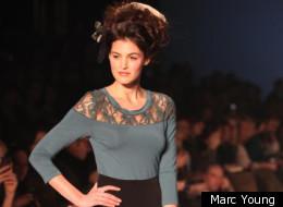 La deuxième journée de la Semaine de la mode de Montréal a ravi les spectateurs. (Photo Marc Young)