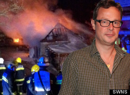 Hugh Fearnley-Whittingstall's River Cottage caught on fire