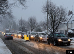 Freezing Rain Could Create A 'Perfect Storm' on Britain's roads