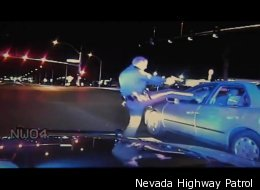 Police dash-cam footage captures beating of Adam Greene by Nevada police.