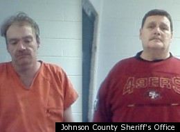 Jamie Curd (left) and Marvin Potter were arrested for the alleged killing of a couple who de-friended Potter's daughter on Facebook.