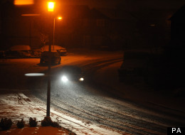 Transport havoc has been predicted after snowfall across much of Britain last night