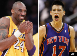 Kobe talked about Jeremy Lin after the Lakers' win over the Celtics on Thursday night.
