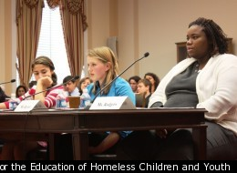 teens homeless advocates for