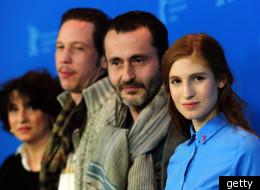 Les comédiens et le réalisateur du film lors de la présentation du film à Berlin. (AFP / Getty Images)