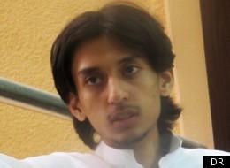 Le journaliste saoudien Hamza Kashgari