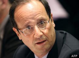 François Hollande, le 5 janvier 2012