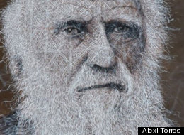 Charles Darwin - who not doubt would have approved of eco-friendly art