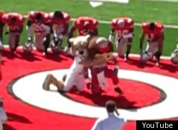 Epic moments of sports mascot failure.
