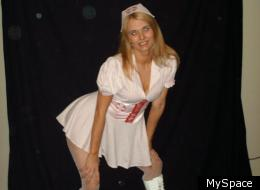 Misty Lawson allegedly punched her young son in the face, during anger management. Here is her MySpace photo.