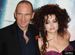 Ralph Fiennes and Helena Bonham Carter will be celebrating Dickens with the Queen tonight