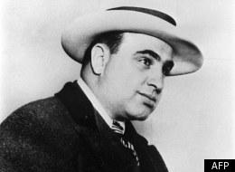 Portrait d'Al Capone en 1931 pendant son procès