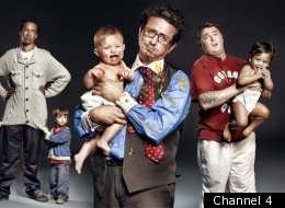 The stars of Channel 4's Daddy Daycare