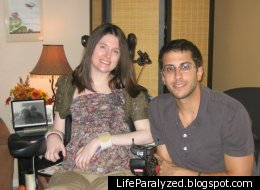 Artist Christina Symanski with her former boyfriend, Jimmy Morganti. Symanski starved herself to death in late 2011 because she was tired of being a burden to her family.