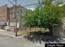 The vacant lot near 101 Lotts Avenue in Brownsville, Brooklyn.