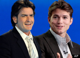 Charlie Sheen has slammed his 'Two and a Half Men' replacement Ashton Kutcher, but he says it's not his fault