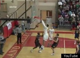 Devin Thomas shattered the backboard with his monstrous dunk.
