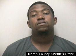Ramon Blair, 28, was arrested for possession of crack cocaine, which police found in his buttocks.