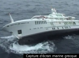 Capture d'écran marine grecque