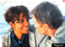 Halle Berry and Olivier Martinez in the film that brought them together - 'Dark Tide'