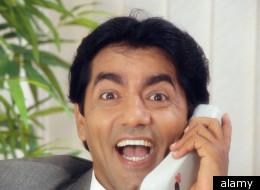 Men Yelling At Phones