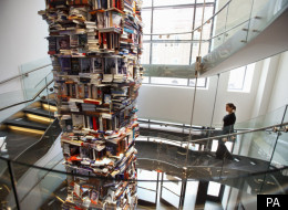 Lincoln's Towering Memorial Made From Books