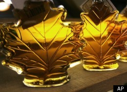 Falsely labelled maple syrup could be banned from the shelves of Canada's grocery stores if Conservative senator Nancy Greene Raine gets her way. (AP)