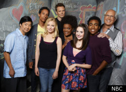 The cast of NBC's