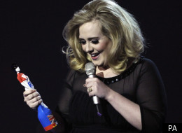 Adele is the first Brit Award winner of the night, unsurprisingly