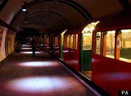 Aldwych Station, which is disused but occasionally opened up to tourists
