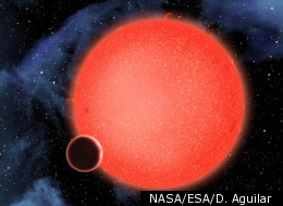 Scientists have discovered GJ1214b - a super-Earth orbiting a red dwarf star 40 light years away