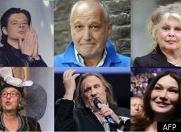 Acteurs, chanteurs, animateurs... tous affichent ouvertement leurs préférences politiques