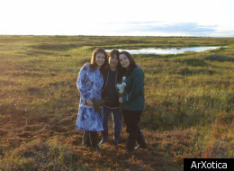 The Sparck triplets, Cika, Michelle and Amy, created natural cosmetics company ArXotica using botanicals from their native Alaskan tundra.
