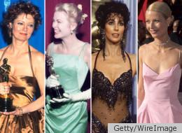 Oscars des meilleures actrices: 80 années de belles robes.