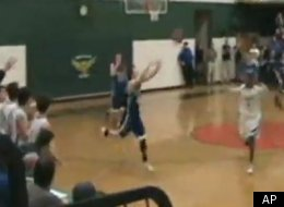 Jack Shea's buzzer beater lifted Vermont High past rival Montbelier.