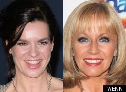 Katarina Witt and Karen Barber